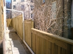 Finish Fence Capped